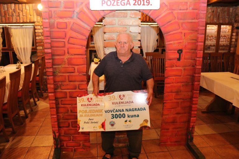 Šampion 39. Kulenijade Jure Polić Strinić iz Požege
