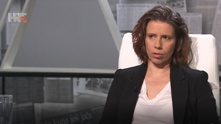 Katarina Peović, kandidatkinja Radničke fronte za predsjednicu Republike
