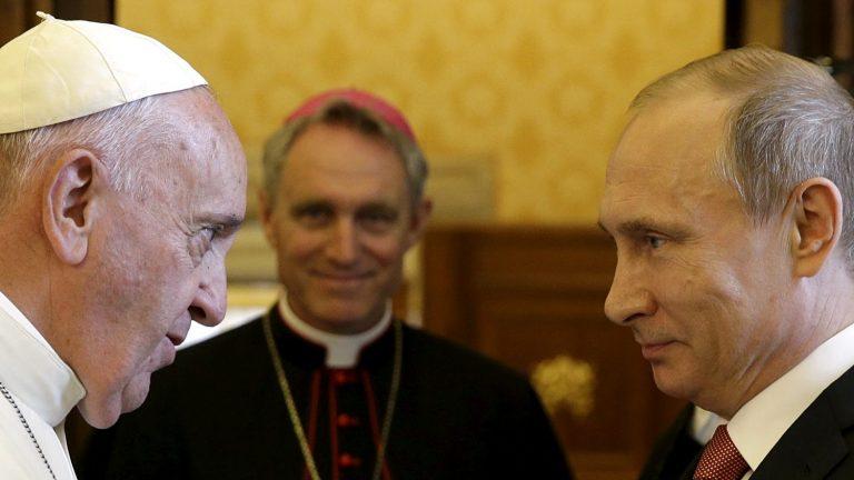Papa Franjo primit će 4. srpnja u audijenciju predsjednika Putina
