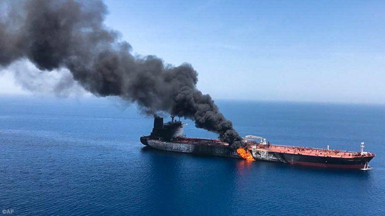 SAD optužuje Iran za napade na naftne tankere
