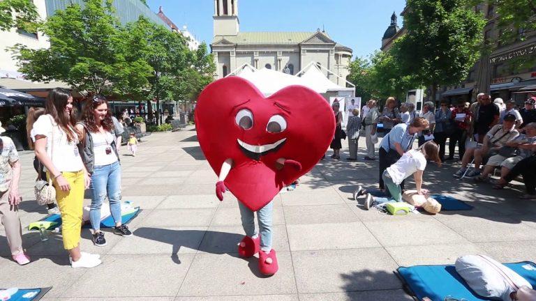 """Akcija """"Sve za tvoje srce"""" na zagrebačkom Cvjetnom trgu"""