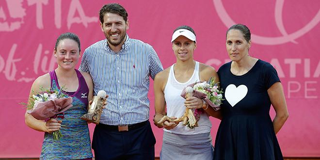 WTA Croatia Bol Open: Slovenka Zidanšek obranila naslov