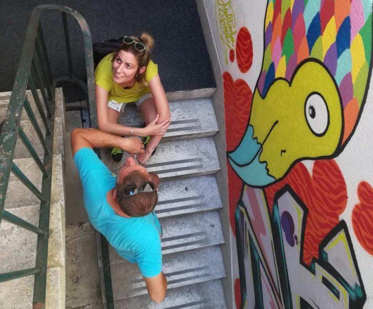 Novi grafiti ulaz u 150 godina staro šibensko kazalište