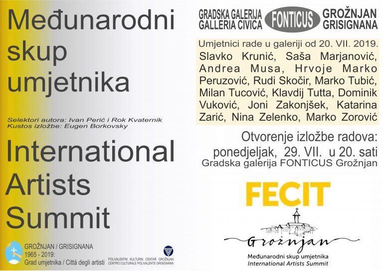 Međunarodni skup umjetnika u Grožnjanu – II FECIT