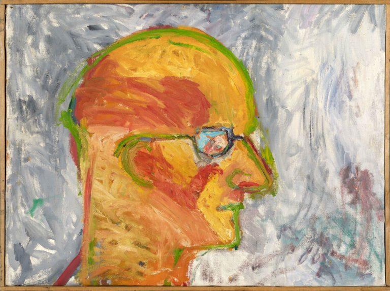 """Autoportret G. Trbuljaka naslikan od drugog"""