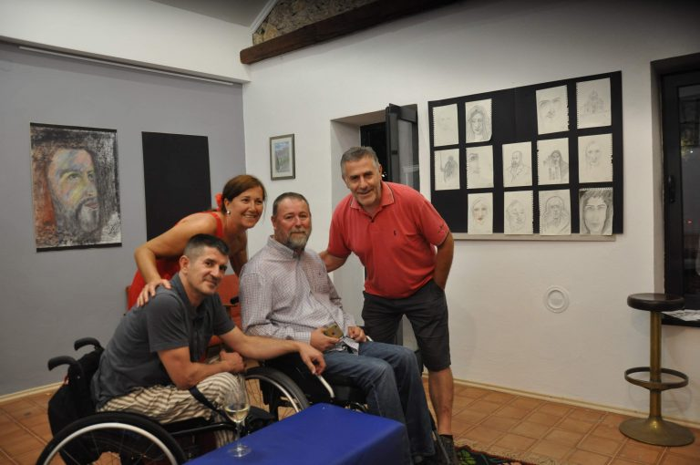 Otvorena izložba crteža Josipa Sopte Joška u Galeriji Vrba