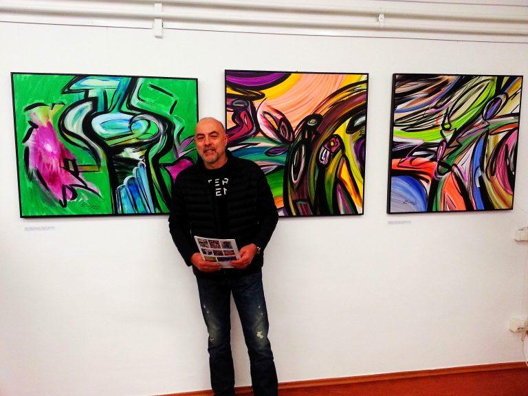 Mladen Žunjić, slikar velikih formata