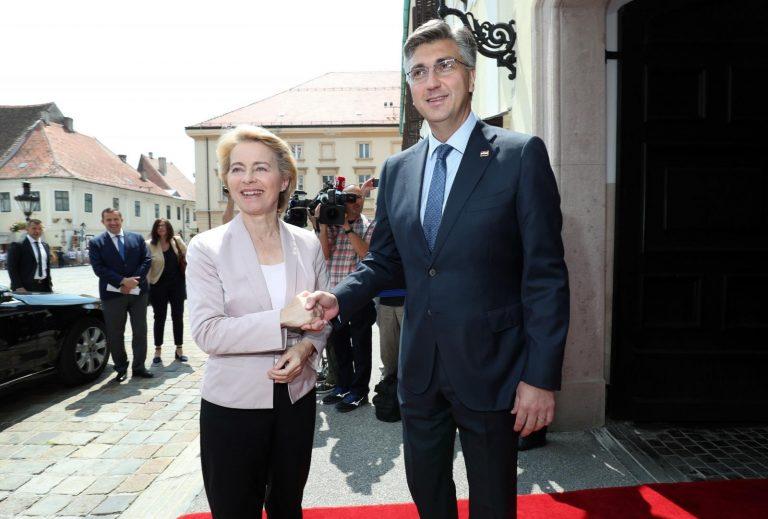 Von der Leyen: Hrvatska je iznimno uspješna priča