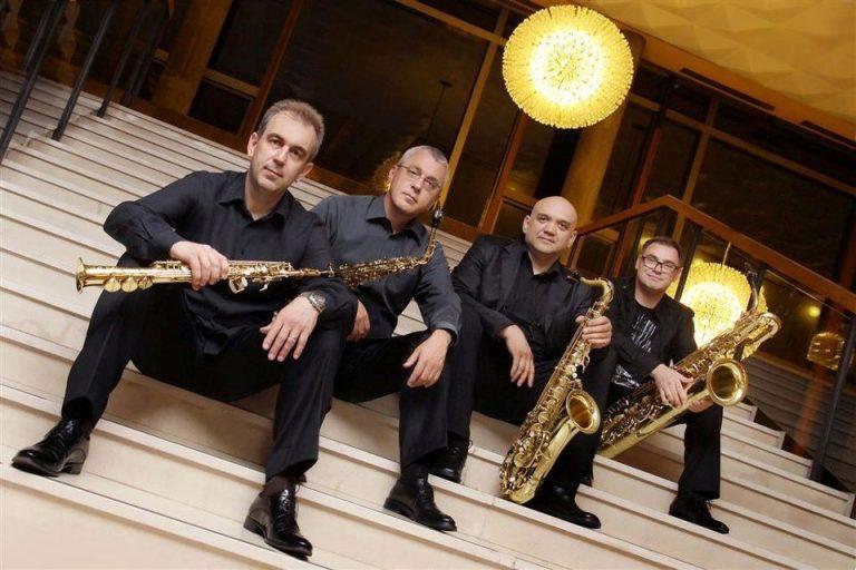 Koncert Zagrebačkog kvarteta saksofona zbog lošeg vremena seli se u Palaču Dverce