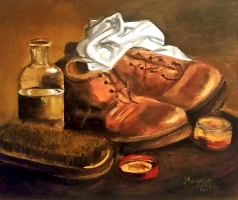 Najava prve samostalne izložbe talentirane slikarice dr. Zorice Majnarić u Križevcima