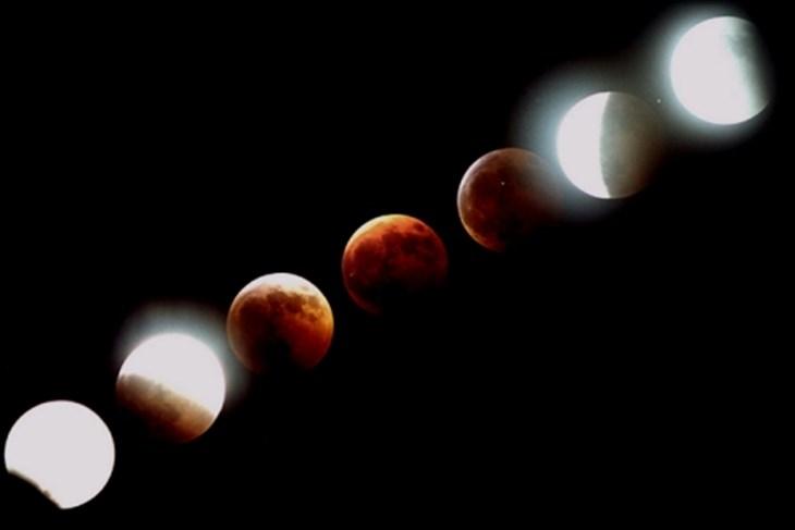 Vidljiva djelomična pomrčina Mjeseca u noći s utorka na srijedu