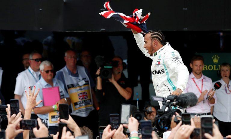 Hamilton šesti put osvojio Veliku nagradu Velike Britanije