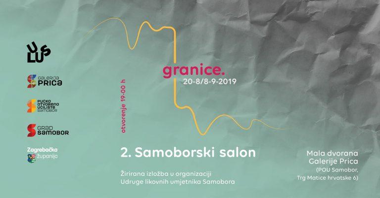 Otvorenje 2. Samoborskog salona – Granice, 20. kolovoza