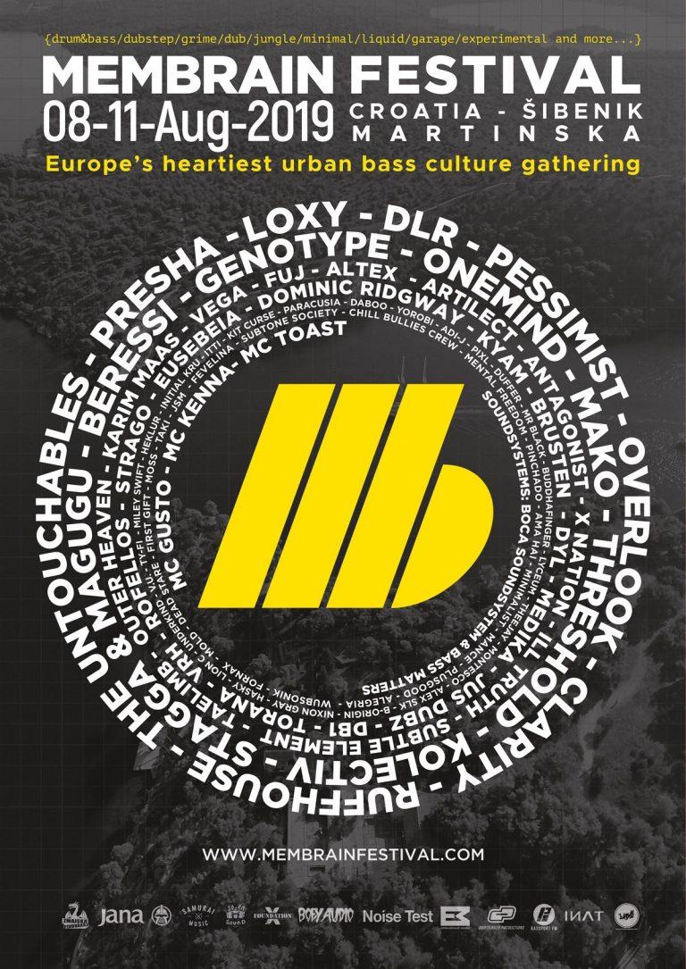 Membrain Festival na Martinsku donosi čistu esenciju europske underground bass scene
