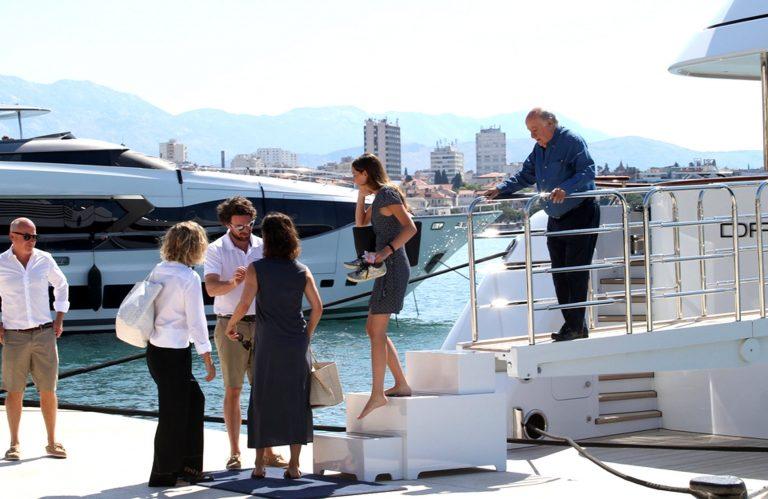 Treći najbogatiji čovjek na svijetu i najbogatiji Europljanin megajahtom došao u Split