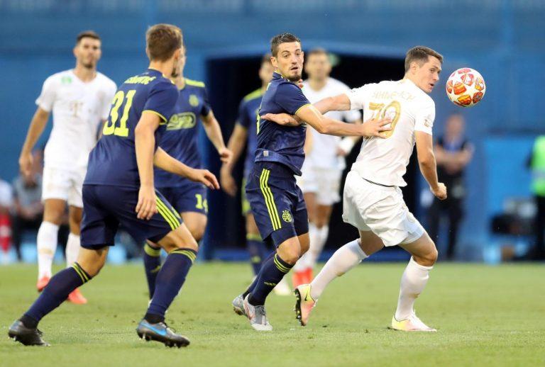 Dinamo neodlučno s Ferencvarošom u prvoj utakmici 3. pretkola