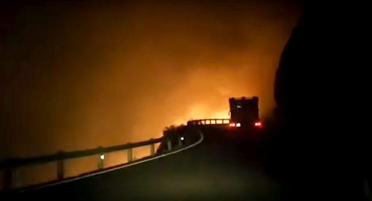 Požar bukti na Gran Canariji, pogledajte video!
