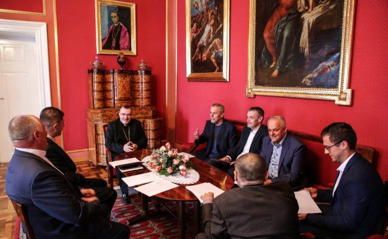 Kardinal Bozanić i gradonačelnik Bandić dogovorili za gradnju svetišta bl. Stepinca