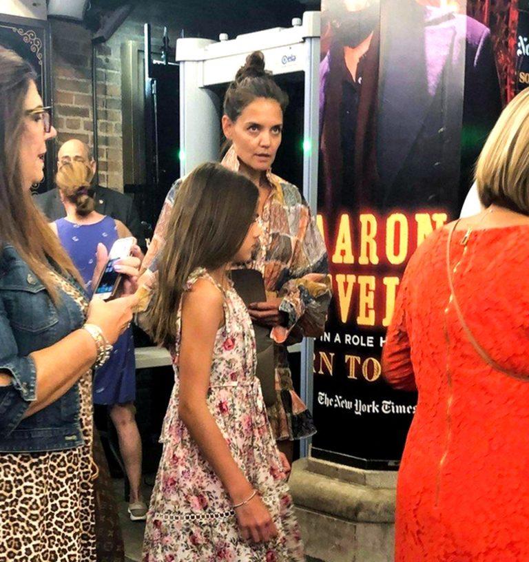 Katie Holmes i Suri Cruise zajedno gledale predstavu na Broadwayu