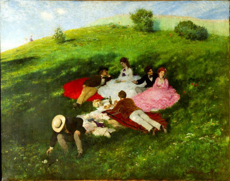 Szinyei Merse, vodeći mađarski impresionist