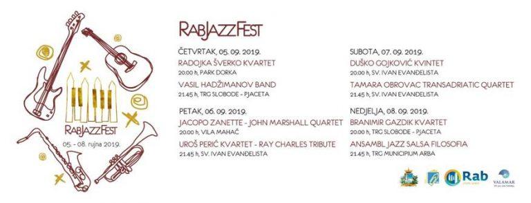 RAB JAZZ FEST – vrhunski (besplatni) glazbeni program na otoku sreće