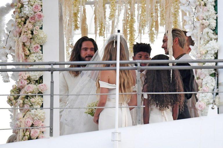 Vjenčali se Heidi Klum i Tom Kaulitz – Ceremonija se održala na bajkovitoj jahti gdje se udala i Jackie O