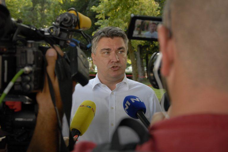 Milanović: Plenković stavlja ljude na listu, a ja sam ih predlagao