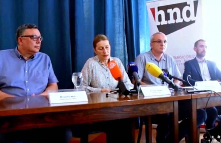 """""""Pokušaj otimanja imovine HND-u"""" – konferencija za medije"""