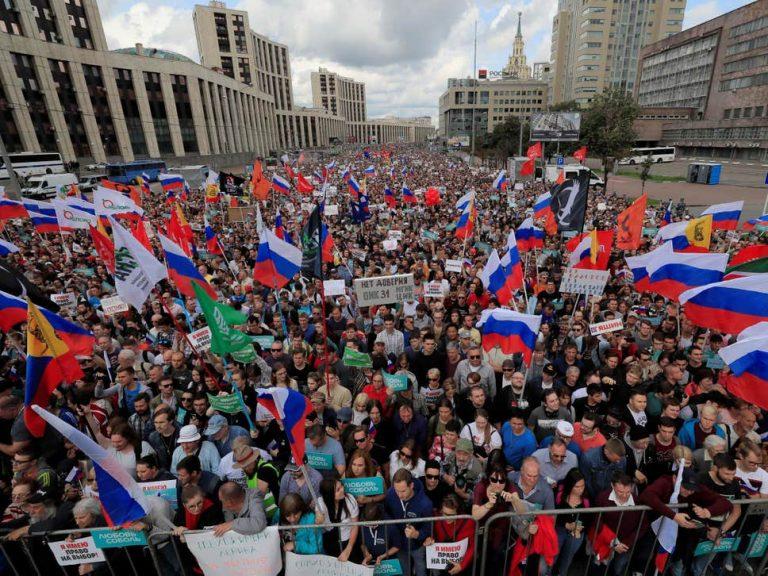 Ugušen novi oporbeni prosvjed u Moskvi
