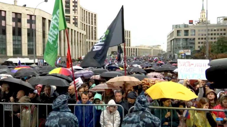 U Moskvi održan novi politički prosvjed