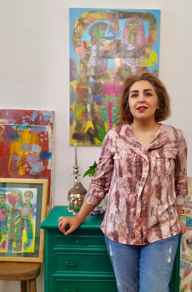 SLIKE ŽIVOTA iranske umjetnice u NV galeriji, Široki Brijeg