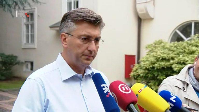 Premijer i predsjednica osudili pokušaj ulaska izaslanstva Vojske Srbije u Hrvatsku