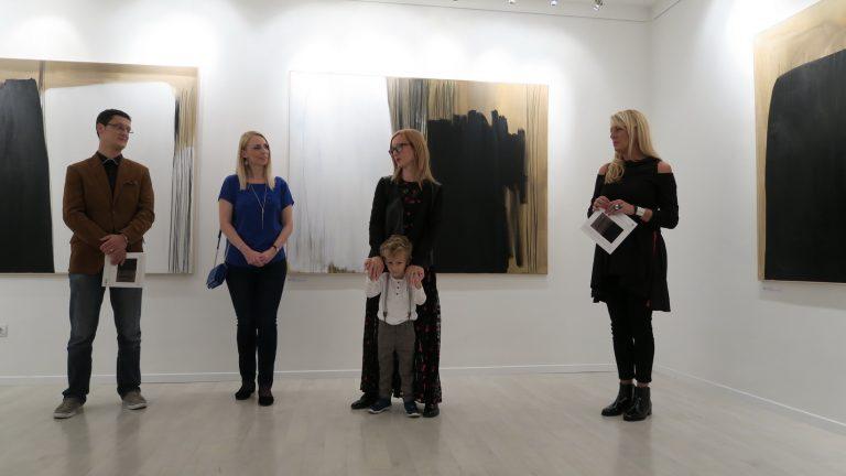 """Uspješno otvorenje izložbe """"Karbon"""" istarske umjetnice Tee Bičić u Zagrebu"""