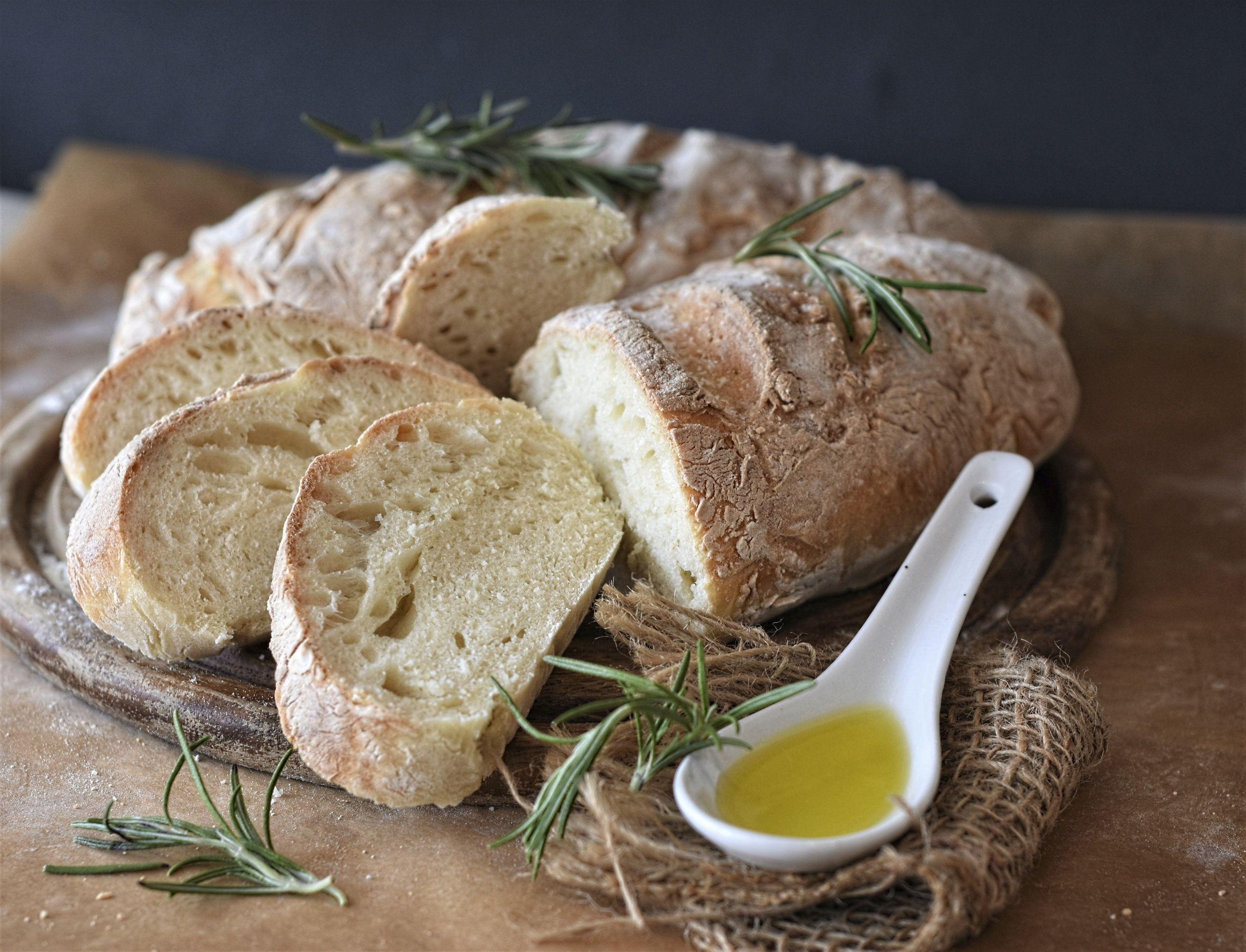 bread, ciabatta, flour