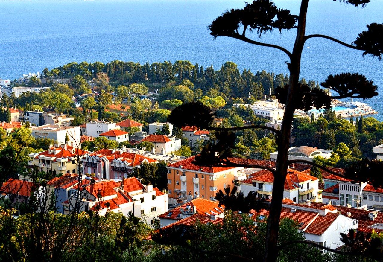 croatia, split, town