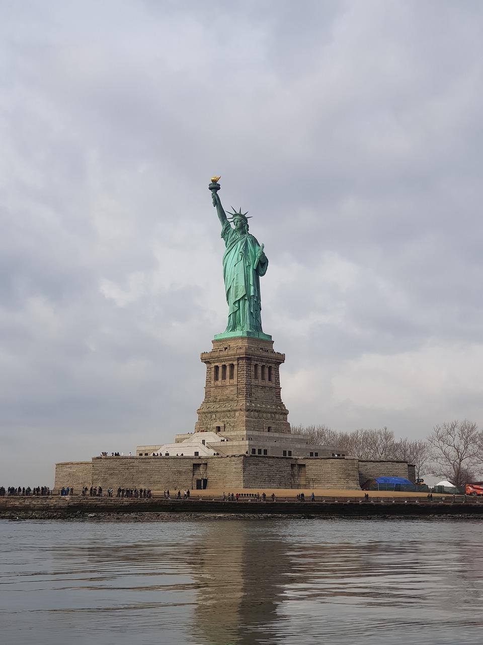 statue, statue of liberty, new york