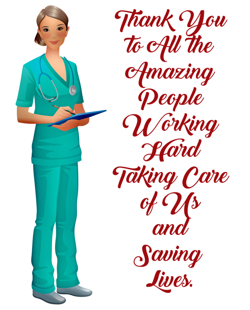 thank you medical, nurse, covid