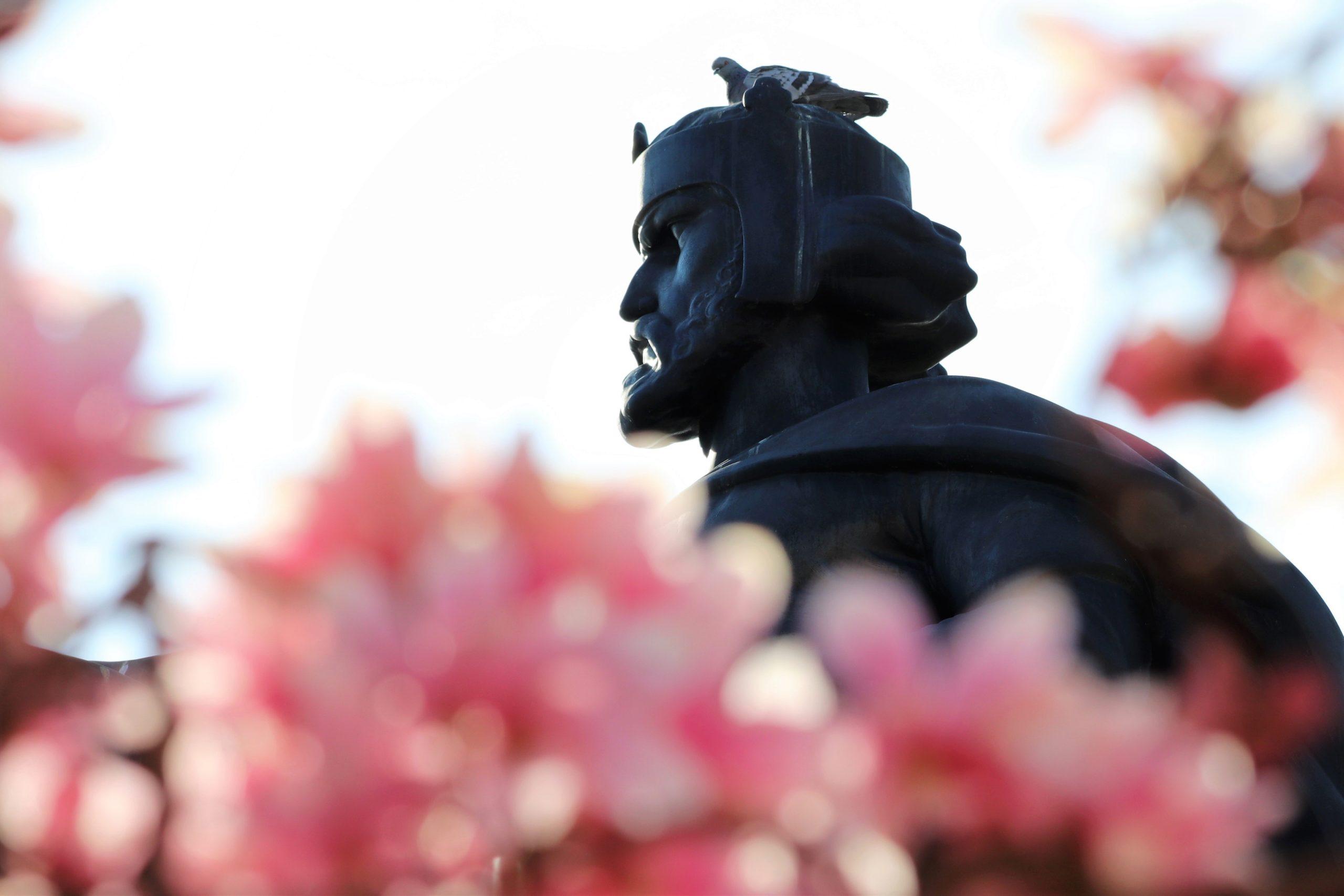 monument, king tomislav, statue