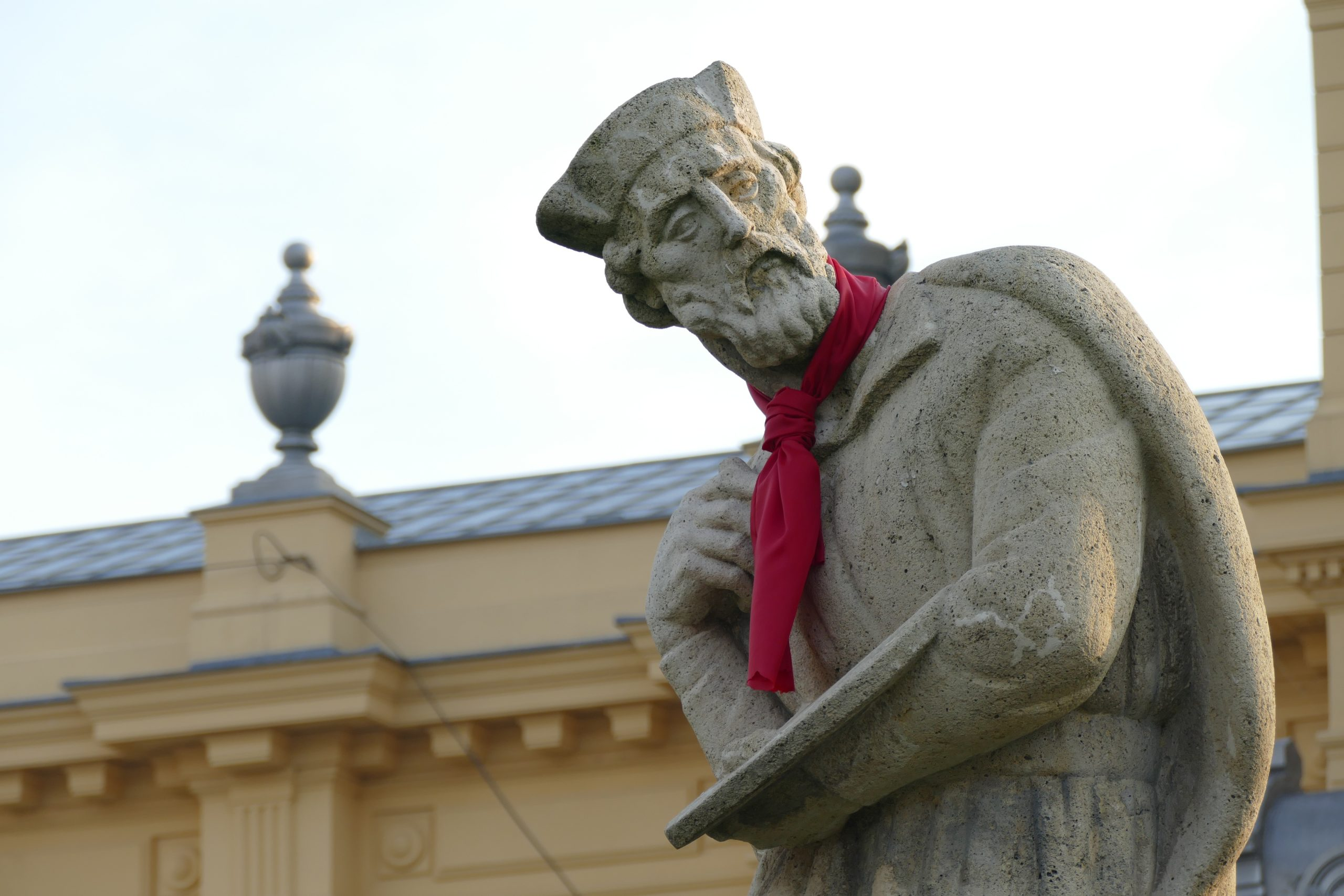 zagreb, statue, sculpture