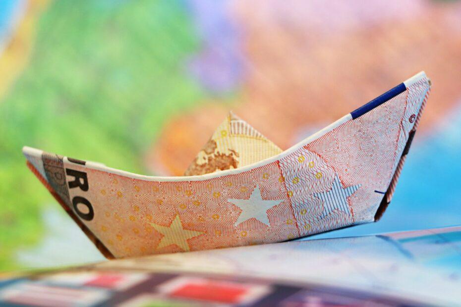 euro, ship, money
