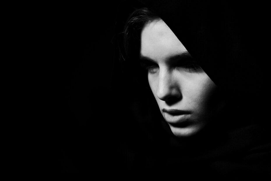 model, woman, composition