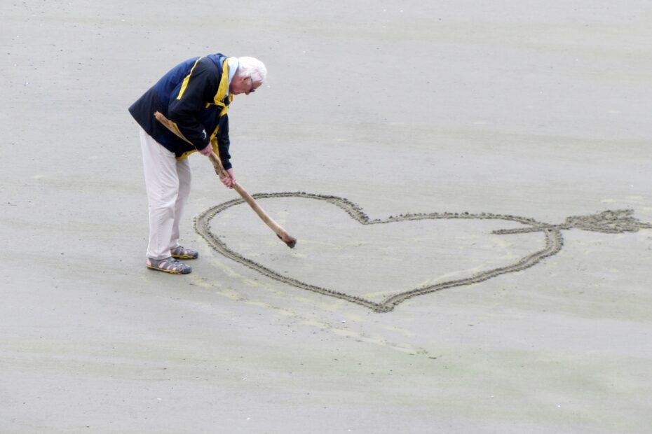 love, old people, the heart of