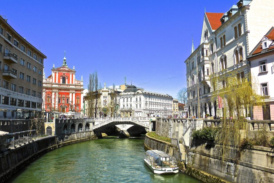 canal, ljubljana, river