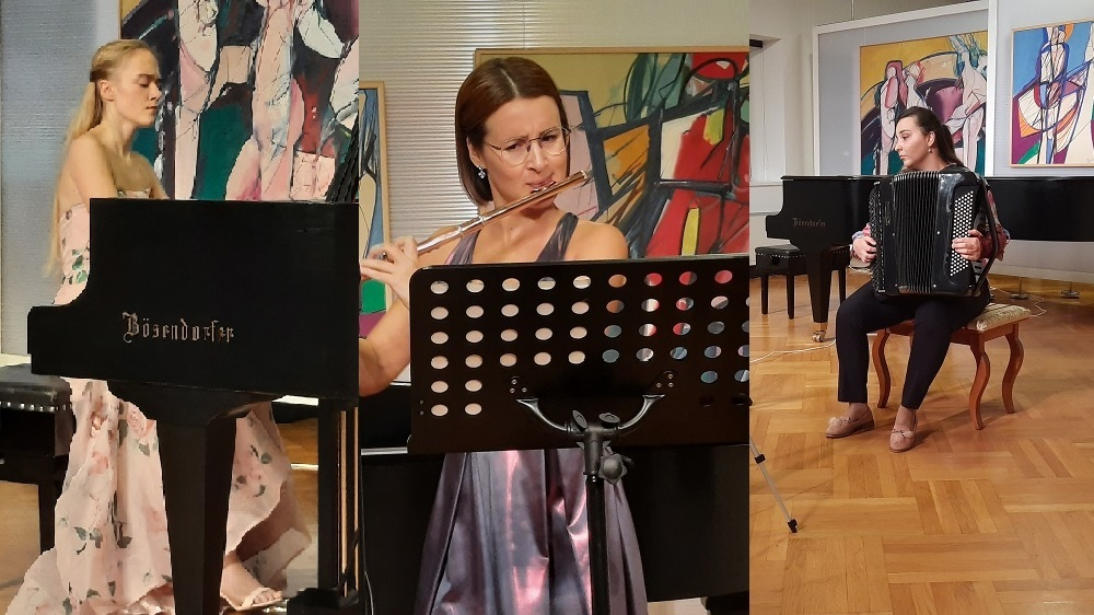 Druga večer 17. međunarodnog natjecanja mladih glazbenih umjetnika Ferdo Livadić