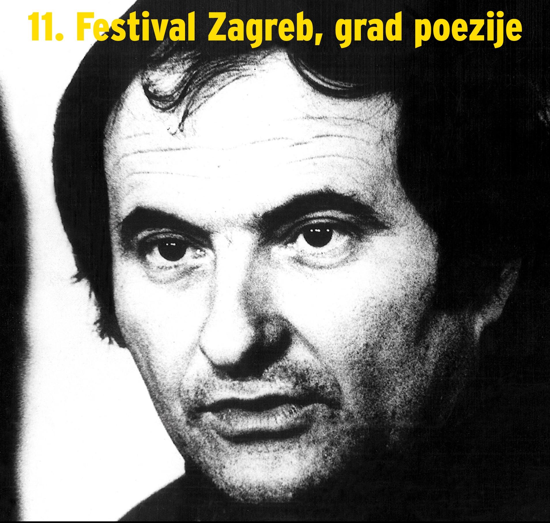 11. festival Zagreb, grad poezije – Znakovi za Vladu Gotovca