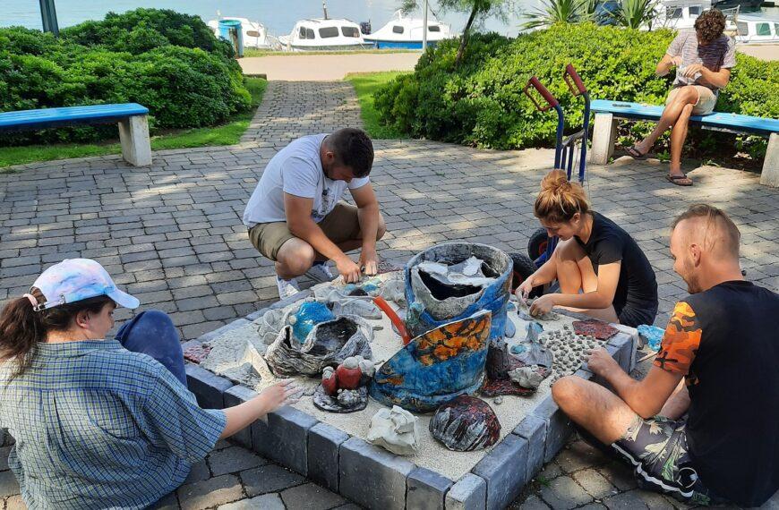 6. kiparska kolonija PUNAT SEA ART