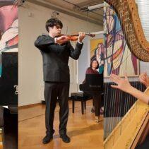 Prva večer 17. međunarodnog natjecanja mladih glazbenih umjetnika Ferdo Livadić / 45. SGJ