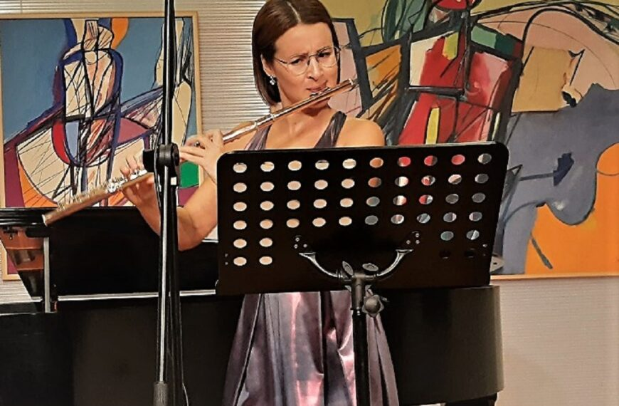Flautistica Lucija Stilinović pobjednica 17. natjecanja Ferdo Livadić