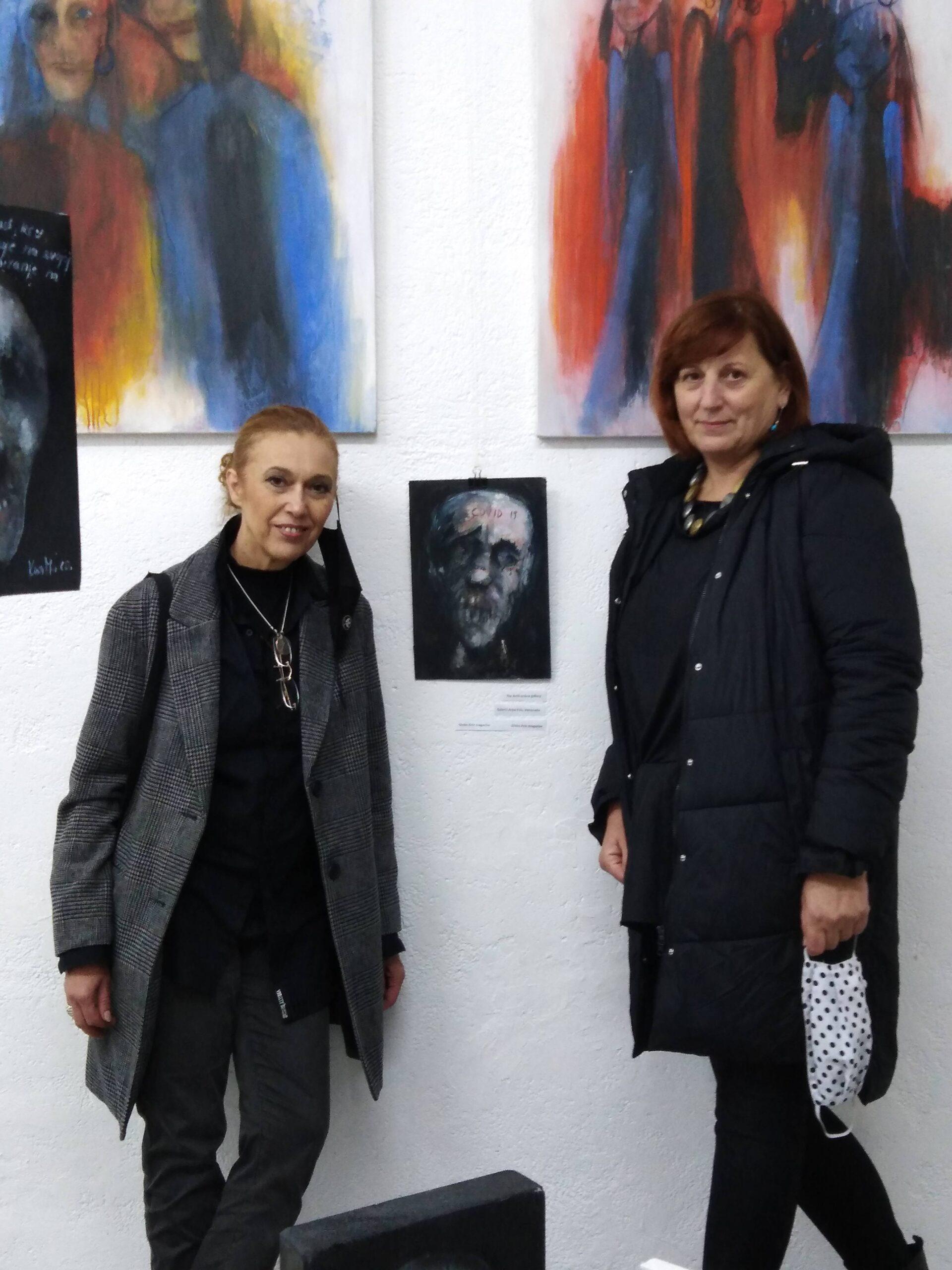 Izložba slika akademske slikarice Karoline Marušić na temu Covida 19