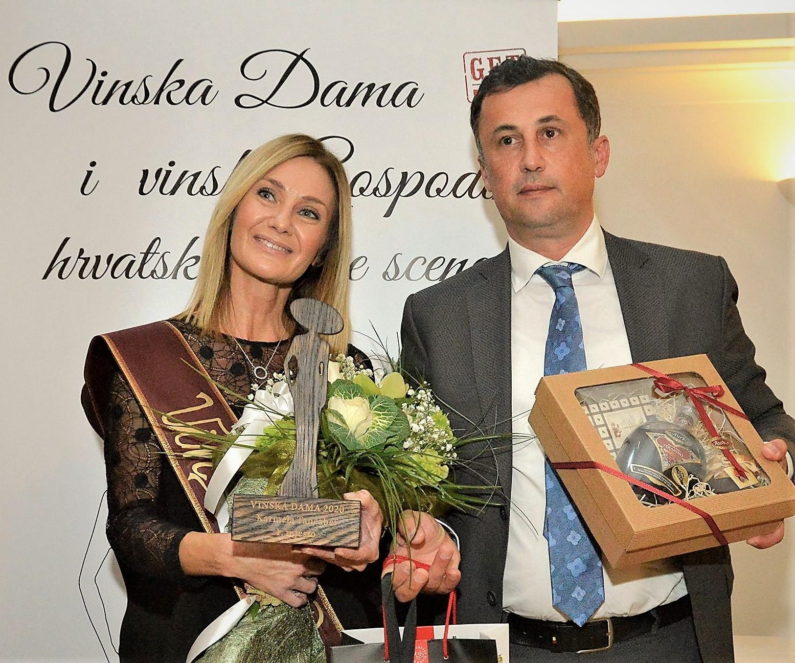 Karmela Tancebal Vinska Dama hrvatske vinske scene